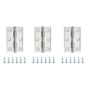 View Stainless Steel Butt Hinge, Pack of 3 details