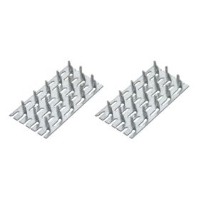 View B&Q Zinc Timber Connector, Pack of 4 details