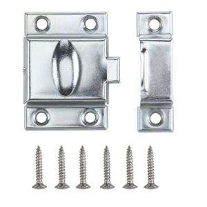 View B&Q Chrome Effect Cupboard Catch details