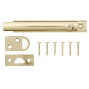 View B&Q Brass Flush Bolt (L)64mm details