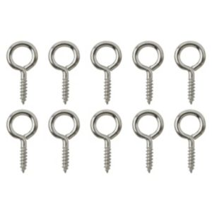 View B&Q Screw Eye, Pack of 10 details