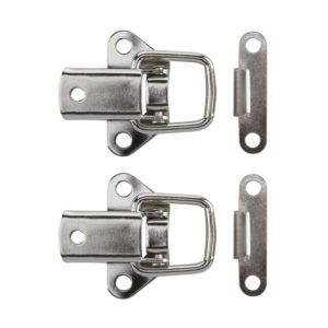 View B&Q Nickel Effect Toggle & Plate Catch, Pack of 2 details