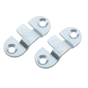 View B&Q Mild Steel Mini Mount (L)40mm, Pack of 4 details