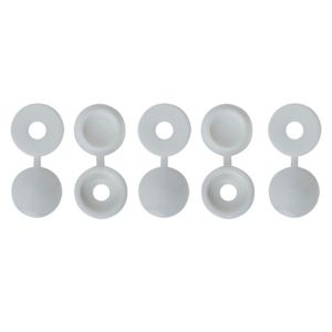 View B&Q M4 Pozi Screw Cap (Dia)12mm, Pack of 10 details