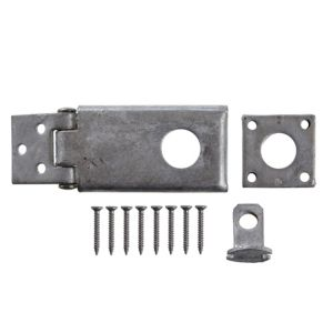 View B&Q Metal Rotating Hasp (H)25mm details