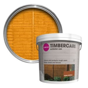 View Colours Timbercare Golden Chestnut Satin Shed & Fence Stain 9L details