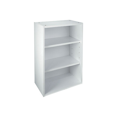 It kitchens white gloss open wall cabinet w 500mm for White gloss kitchen wall cupboards