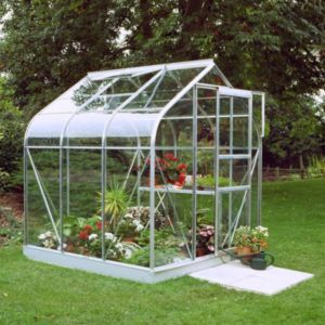 Image of B&Q 6X6 Toughened Safety Glass Greenhouse