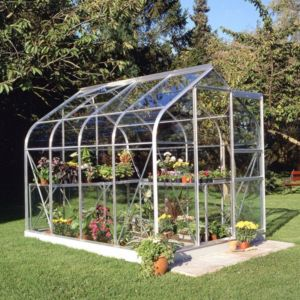 View B&Q 6X8 TSG Greenhouse details