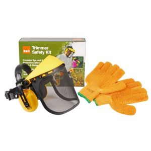 View B&Q Trimmer Safety Kit details