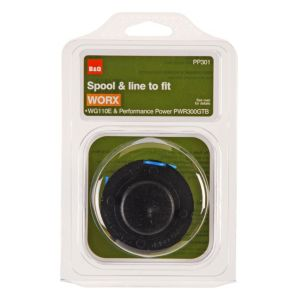 View B&Q Black & Blue Plastic Spool & Line details