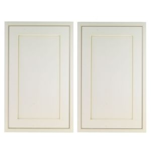 View Cooke & Lewis Woburn 600mm Larder Door, Pack  E, Set of 2 details
