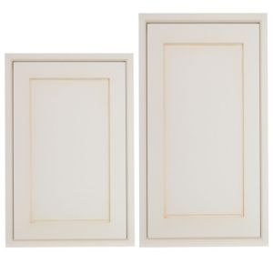 View Cooke & Lewis Woburn 600mm Tall Larder Door, Pack  E1, Set of 2 details