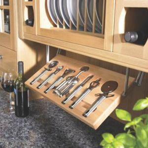 View Cooke & Lewis Beech Effect Kitchen Utensil Tray details