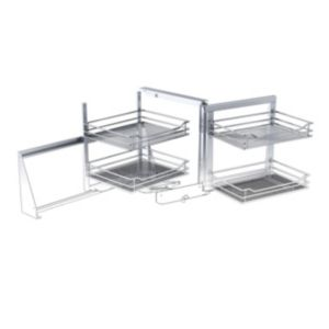 View Cooke & Lewis Stainless Steel Effect Storage System details