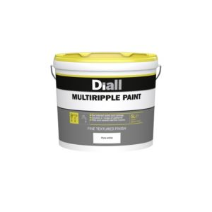 View B&Q Multi Ripple Pure White Special Effect Paint 5L details