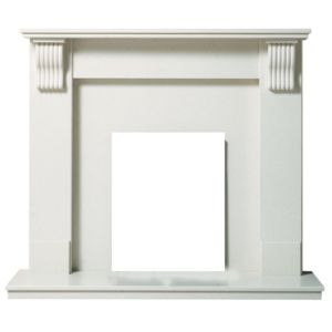 View Victoria Cream Micro Marble Fire Surround Set details