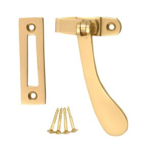 View B&Q Brass Window Accessories details