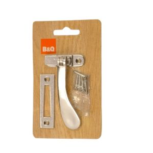 View B&Q Chrome Effect Casement Fastener details