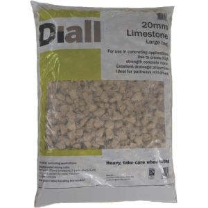 Image of Diall 20mm Limestone Chippings Large Bag