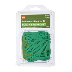 View B&Q Trimmer Cutters Replacement Plastic Blades details