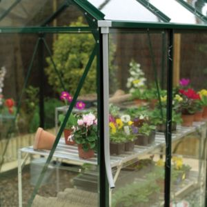 View B&Q Grey Plastic Greenhouse Rainwater Guttering Kit details