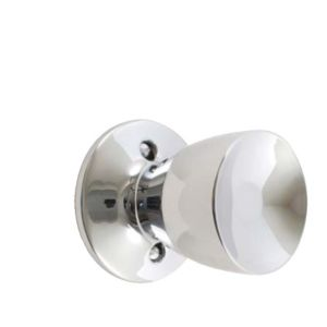 View B&Q Chrome Effect Round Internal Knob & Latch, Pack of 1 Pair details