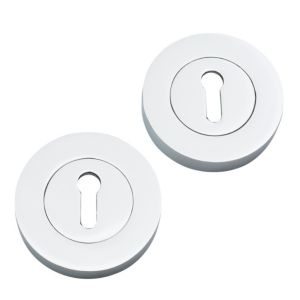 View Chrome Effect Contemporary Escutcheon details