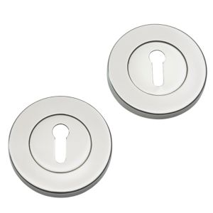 View Stainless Steel Effect Contemporary Escutcheon details