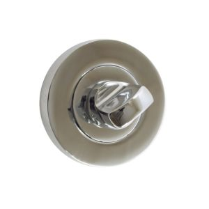View B&Q Chrome Effect Bathroom Thumbturn & Release details