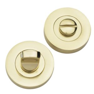 View B&Q Brass Effect Thumbturn & Release details