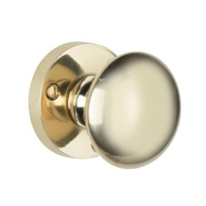 View B&Q Value Round Internal Knob, Pack of 3 Pairs details