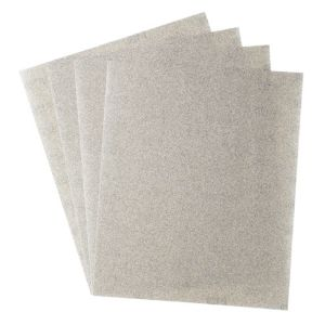 View B&Q Medium Sandpaper Sheet, Pack of 4 details