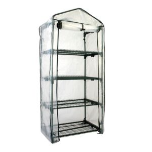 View B&Q PVC Growhouse (W)690mm (D)490mm (H)1.59m details