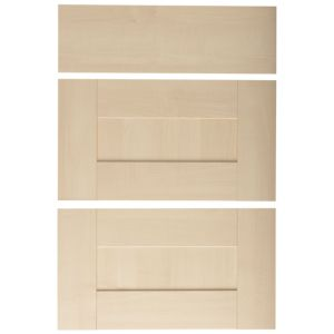 View IT Kitchens Contemporary Maple Style 500mm Drawer Front, PACK C, Set of 3 details