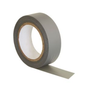 View B&Q Grey Insulation Tape (W)19mm (L)10m details