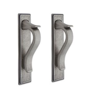 View IT Kitchens Antique Pewter Effect D-Shaped Cabinet Handle, Pack of 2 details