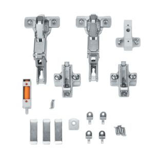 View Cooke & Lewis F Door Hinge, Set of 2 details
