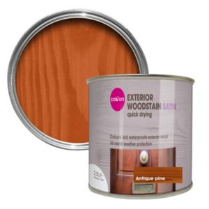 View B&Q Quick Drying Antique Pine Satin Woodstain 2.5L details