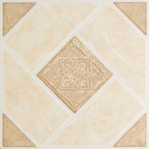 View Colours Jacona Beige Stone Effect Self Adhesive Vinyl Tile Pack 0.6m² details