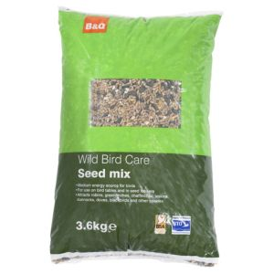View B&Q Seed Mix Wild Bird Feed 3.6kg details
