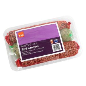 View B&Q Banquet Wild Bird Feed 91G, Pack of 6 details