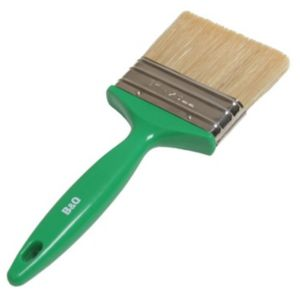 View B&Q Woodstain Brush (W)3