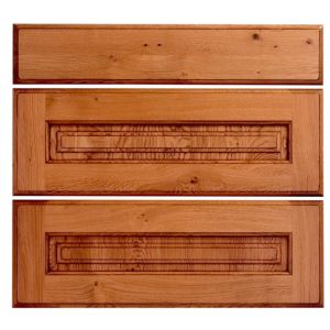 View Cooke & Lewis Hedingham Pan Drawer Front (W)800mm, Set of 3 details