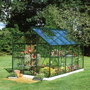 Image of B&Q Metal 6x10 Horticultural glass greenhouse