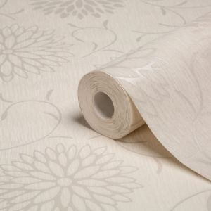 View Romantic Cream Wallpaper details