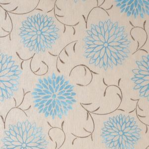 View Romantic Cream & Teal Floral Wallpaper details