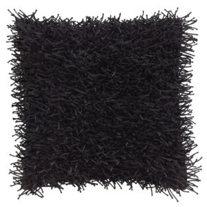 View Nigella Shaggy Black Cushion details
