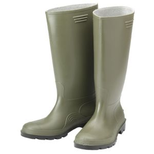 View B&Q Green Wellington Boots, Size 10 details