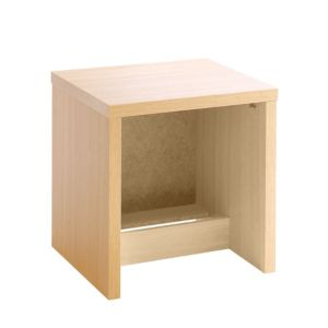 View Cooke & Lewis Maple Effect 2 Drawer Bedside Chest (H)511mm (W)500mm (D)440mm details